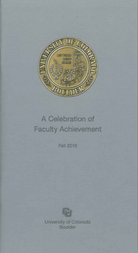 A Celebration of Faculty Achievement 2016